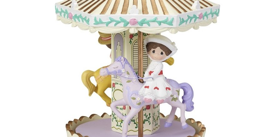 "Toys For Mary Poppins : Precious moments ""make every day a jolly holiday disney"