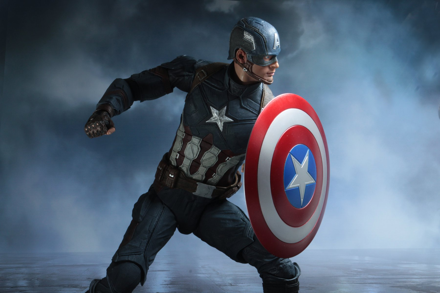 Captain America 1//4 Scale Figure NECA Captain America: Civil War