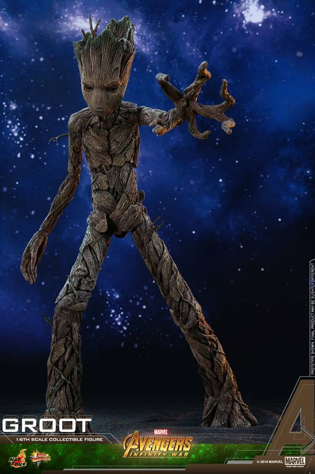 Avengers Infinity War 1 6th Scale Groot Collectible