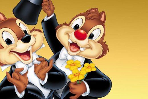 Chipmunks in tuxedos