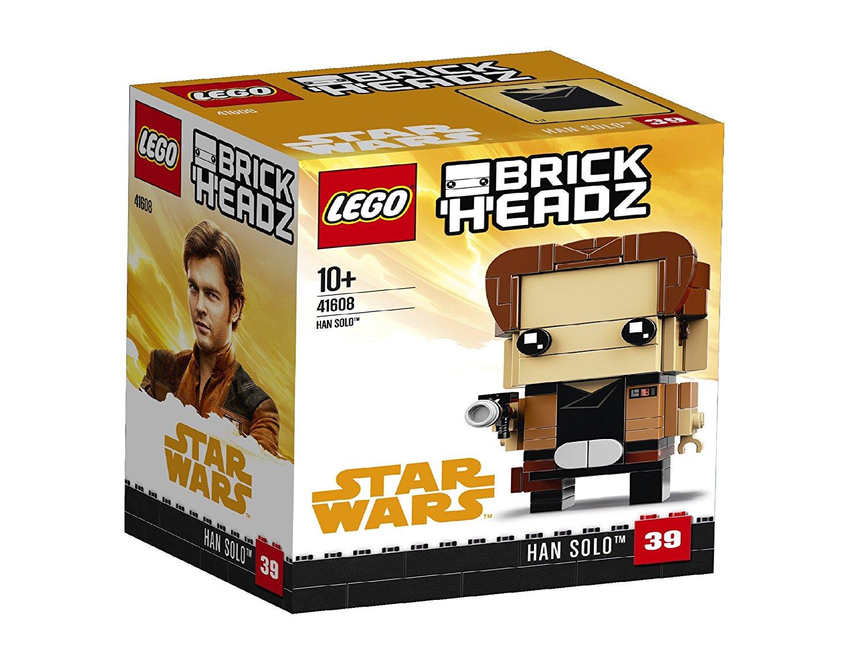 First Look At Han Solo & Chewbacca LEGO Star Wars Brickheadz ...