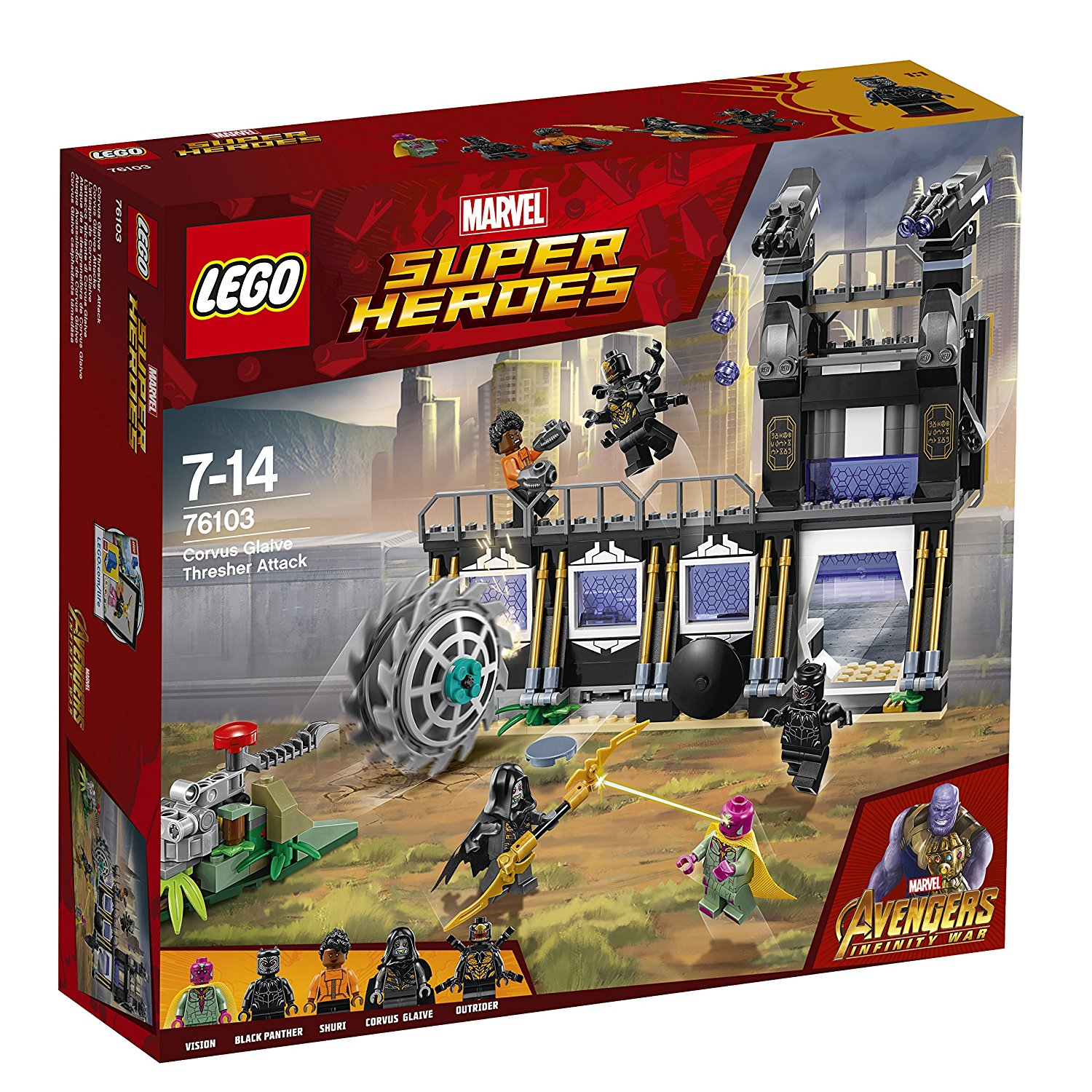 Marvel Avengers Infinity War Lego Sets Out Now