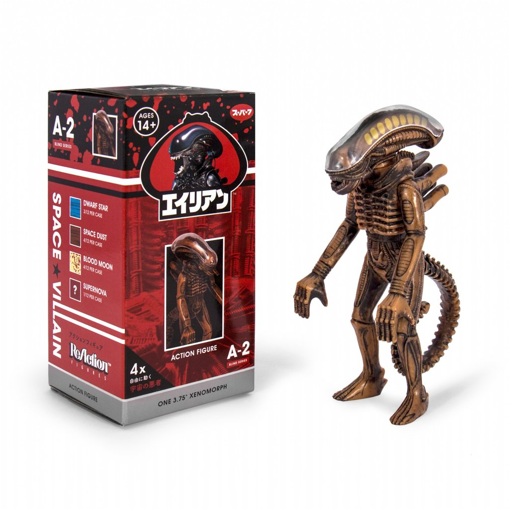 Alien Blind Box Xenomorph Reaction Figure Wave 2 Coming