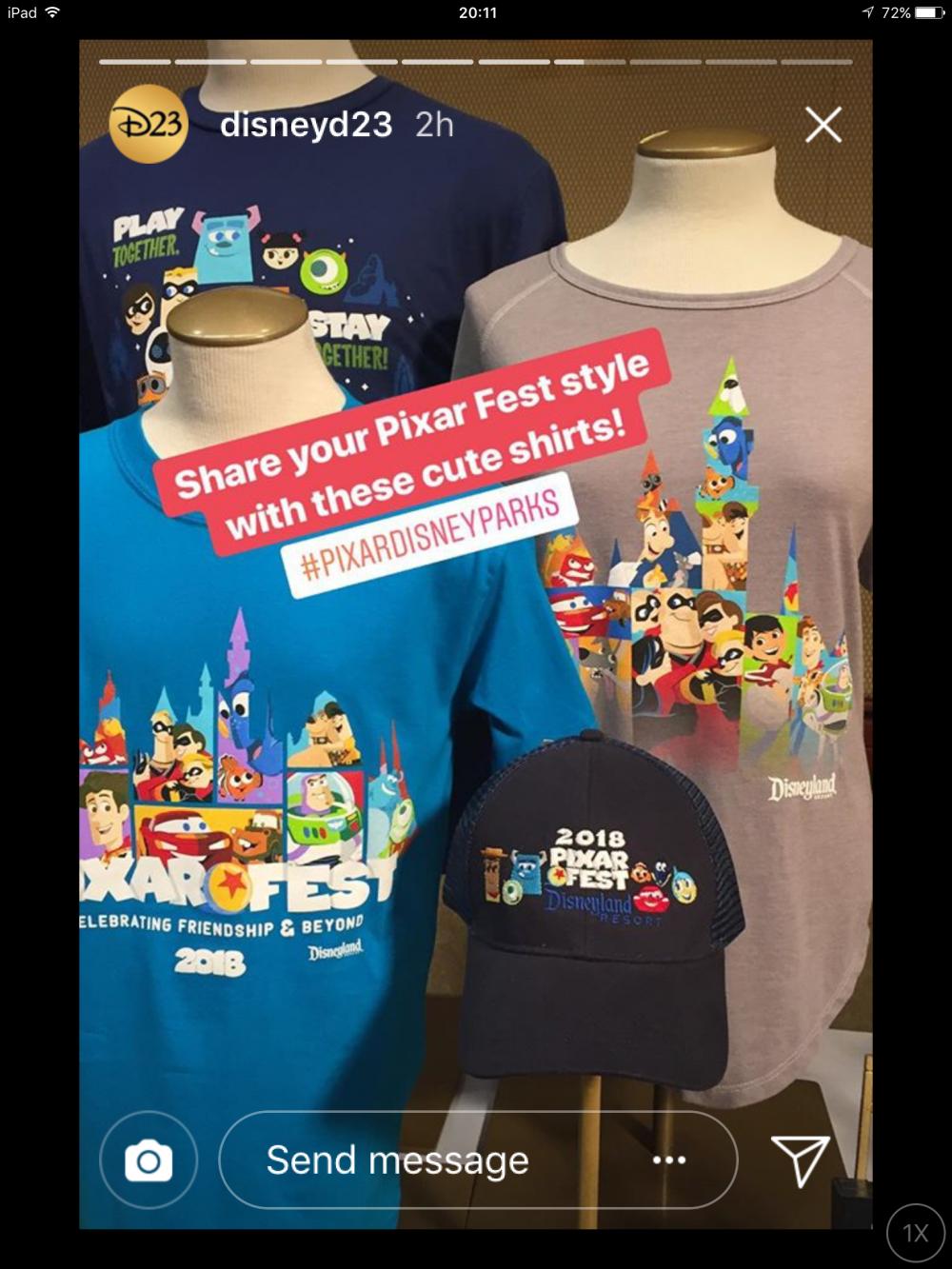 Disneylands Pixar Fest Merchandise Previewed