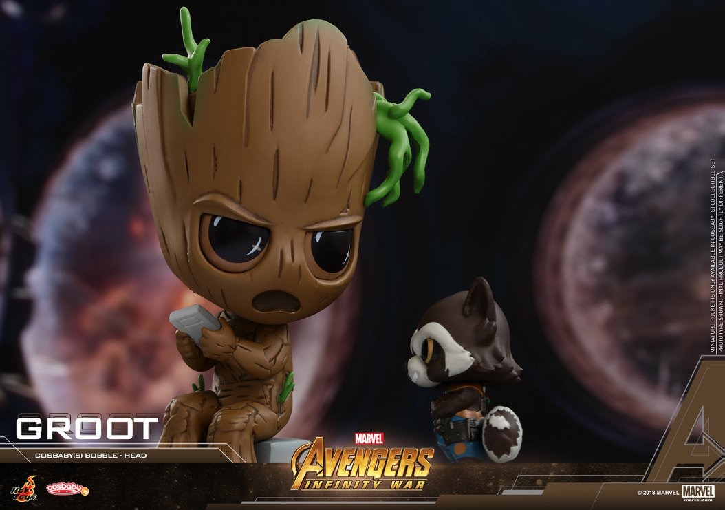 Avengers Infinity War Cosbaby Bobble Heads Coming Soon