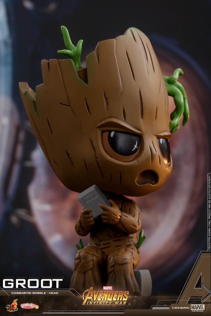 Avengers Infinity War Cosbaby Bobble Heads Coming Soon