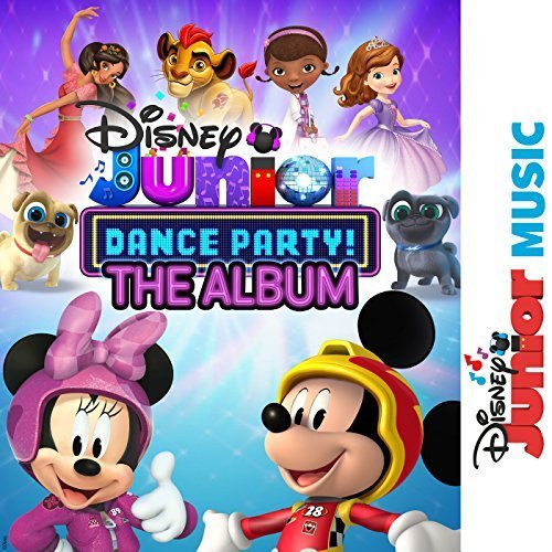 Disney Junior Music Dance Party Album Out Now