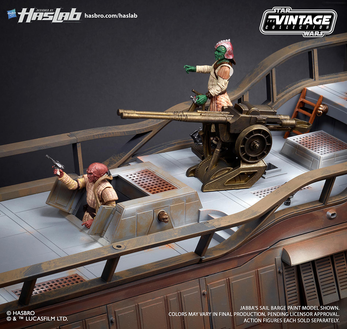 New Star Wars Jabba S Sail Barge Images Released
