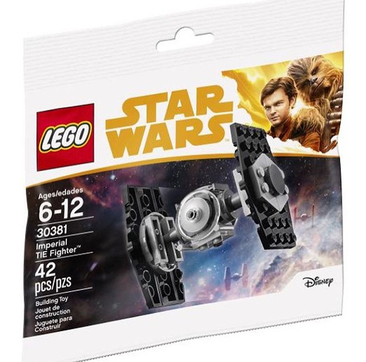 May The 4th Be With You Lego 2018: LEGO Solo: A Star Wars Story Imperial TIE Fighter (30381