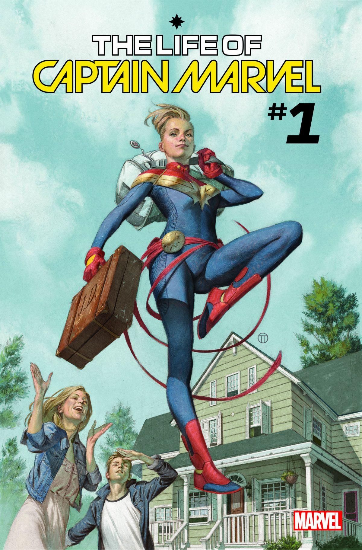 Marvel Announces The Life Of Captain Marvel 1