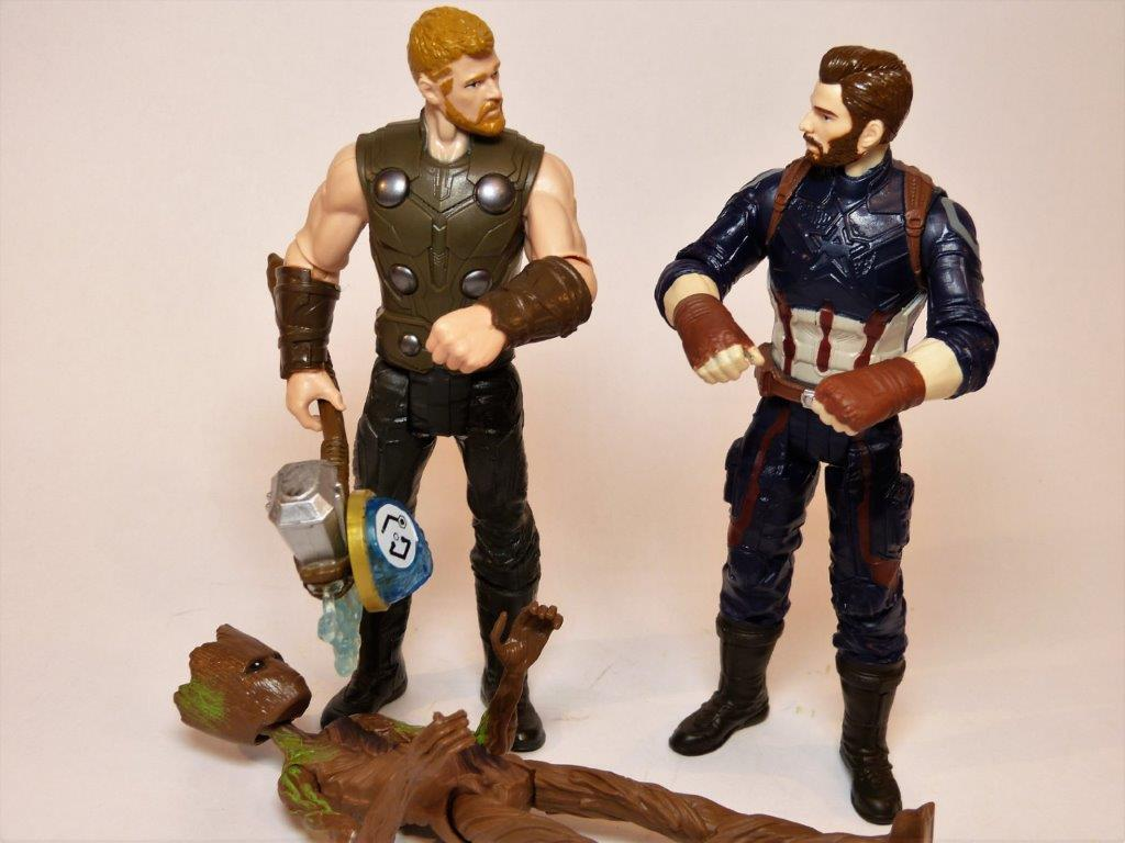 avengers  infinity war thor action figure review