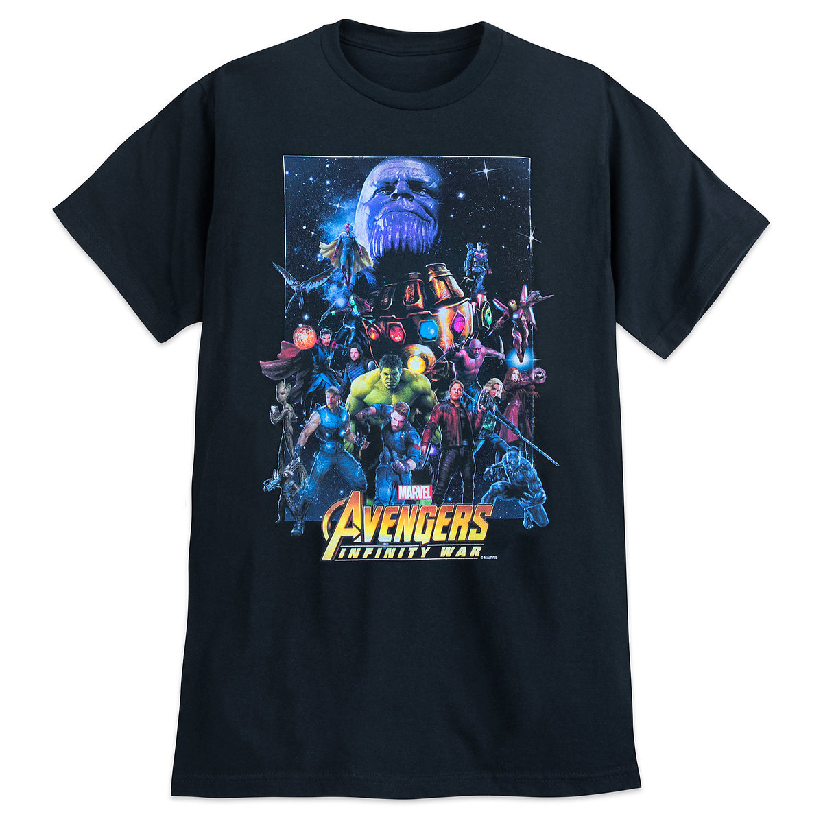 Marvel Avengers: Infinity War Poster T-Shirts Released ...