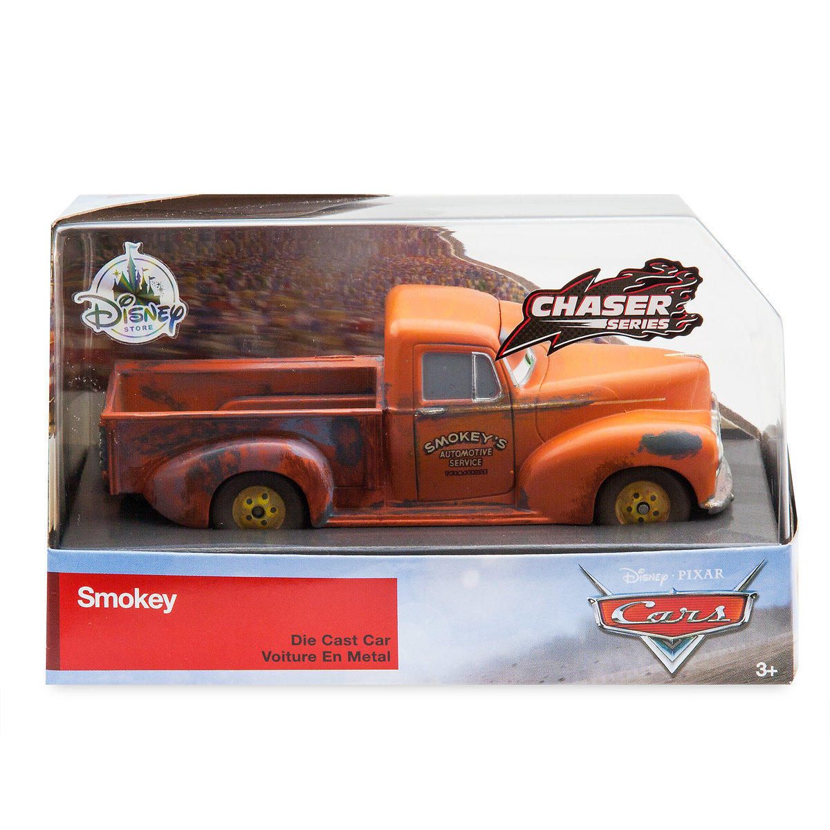 Smokey Die Cast Car Chaser Series Cars 3 Limited Release Out