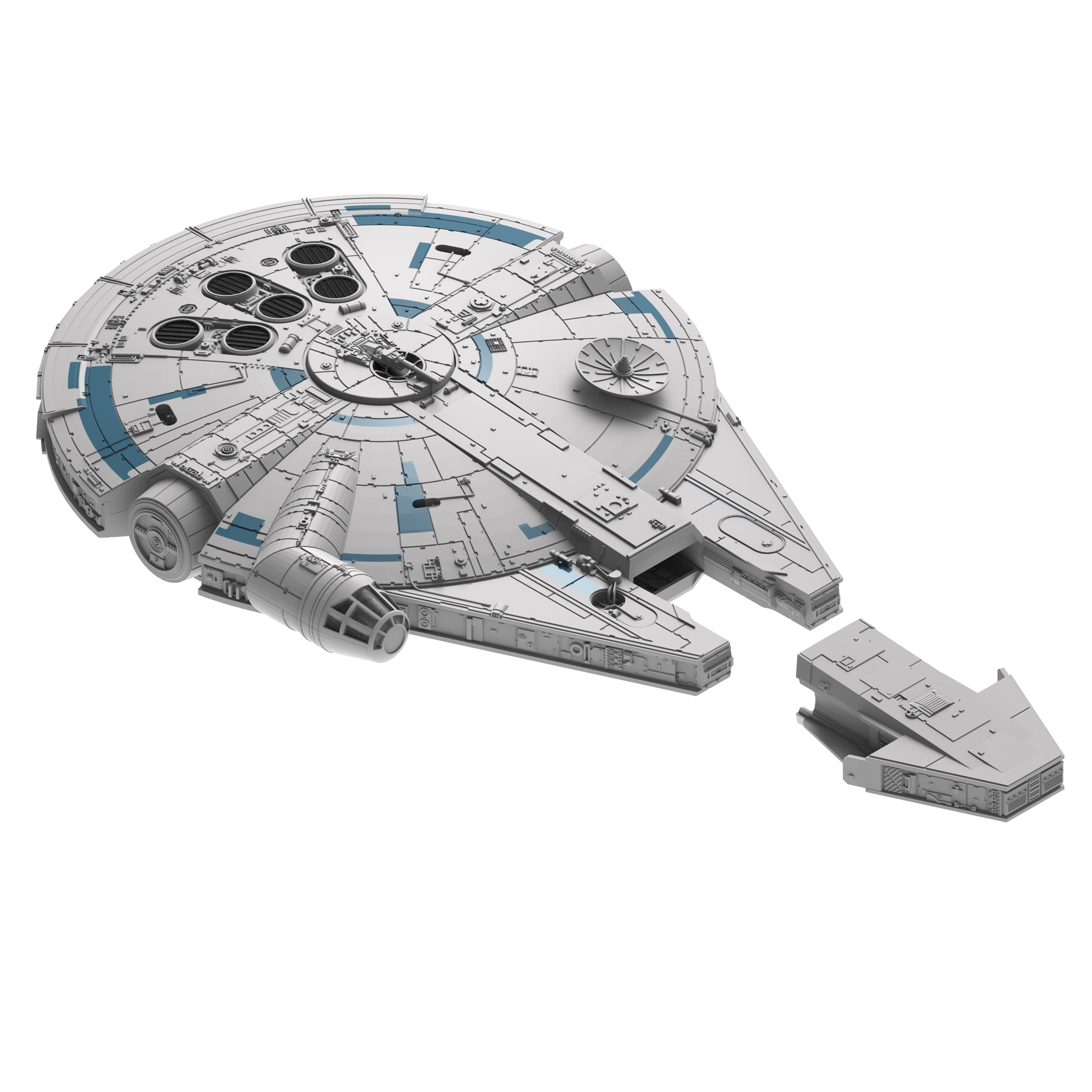 Diagram Of Millenium Falcon Wiring Diagrams Mtd Lawn Mower Model 37448a Solo A Star Wars Story Revell Kits Coming Soon Outline The