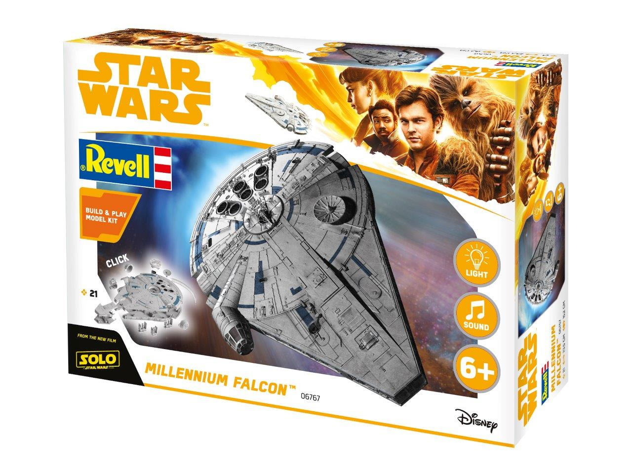 Solo: A Star Wars Story Revell Model Kits Out Now