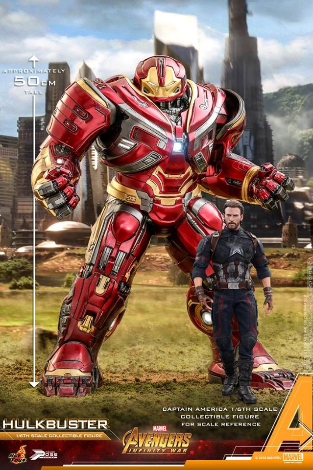 Avengers Infinity War Hulkbuster 1 6 Scale Power Pose