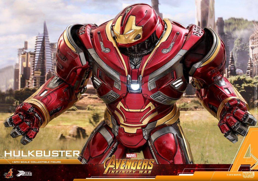 Avengers Infinity War Hulkbuster 1 6 Scale Power Pose
