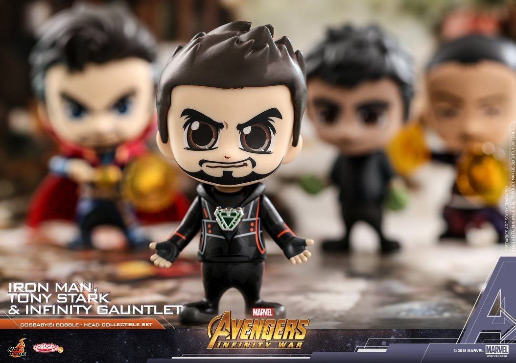 More Avengers Infinity War Cosbaby Bobble Heads Coming