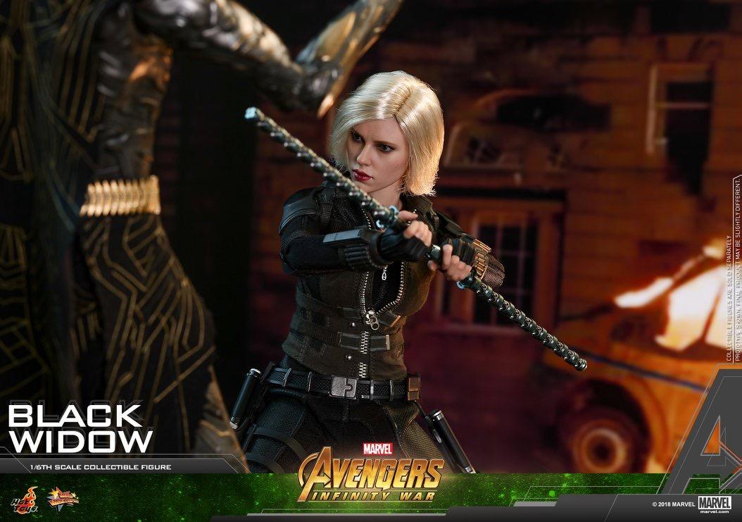 Avengers Infinity War 1 6th Scale Black Widow