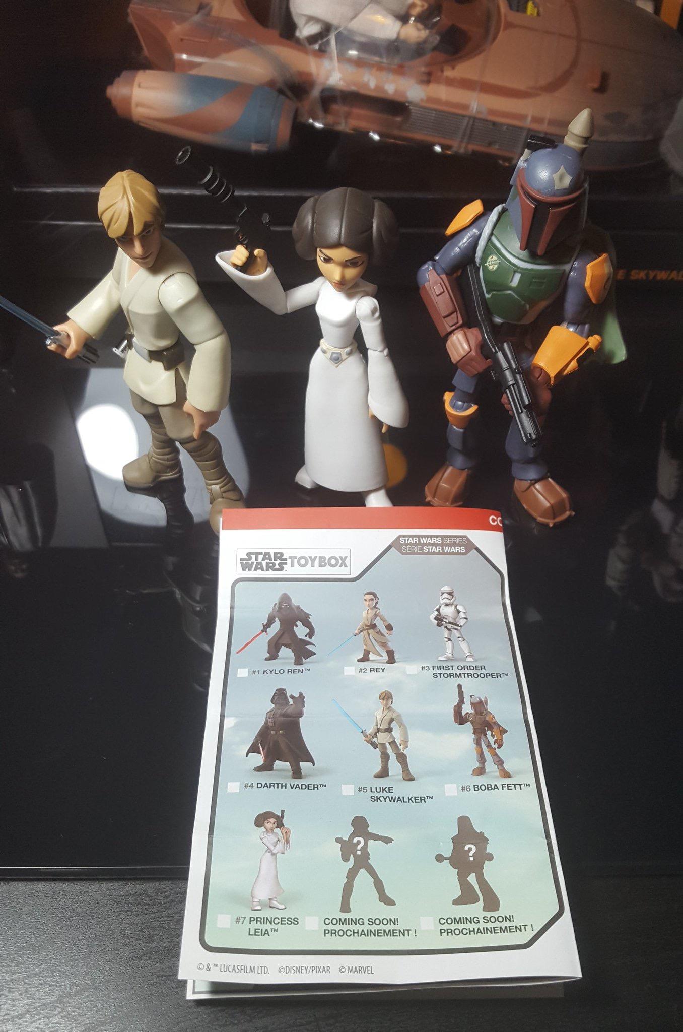 Disney Boutique Star Wars Toybox DARTH VADER Action Figure