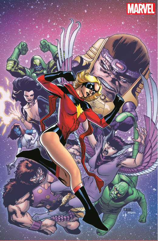 Celebrate The 50th Anniversary Of Carol Danvers With