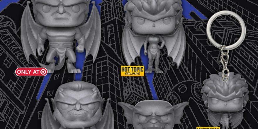 Gargoyles Pop Vinyl Retailer Exclusives Revealed