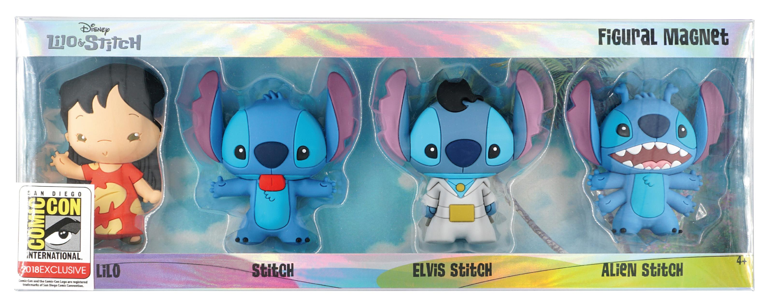 Lilo And Stitch 4pc 3d Foam Magnet Set Coming To Sdcc