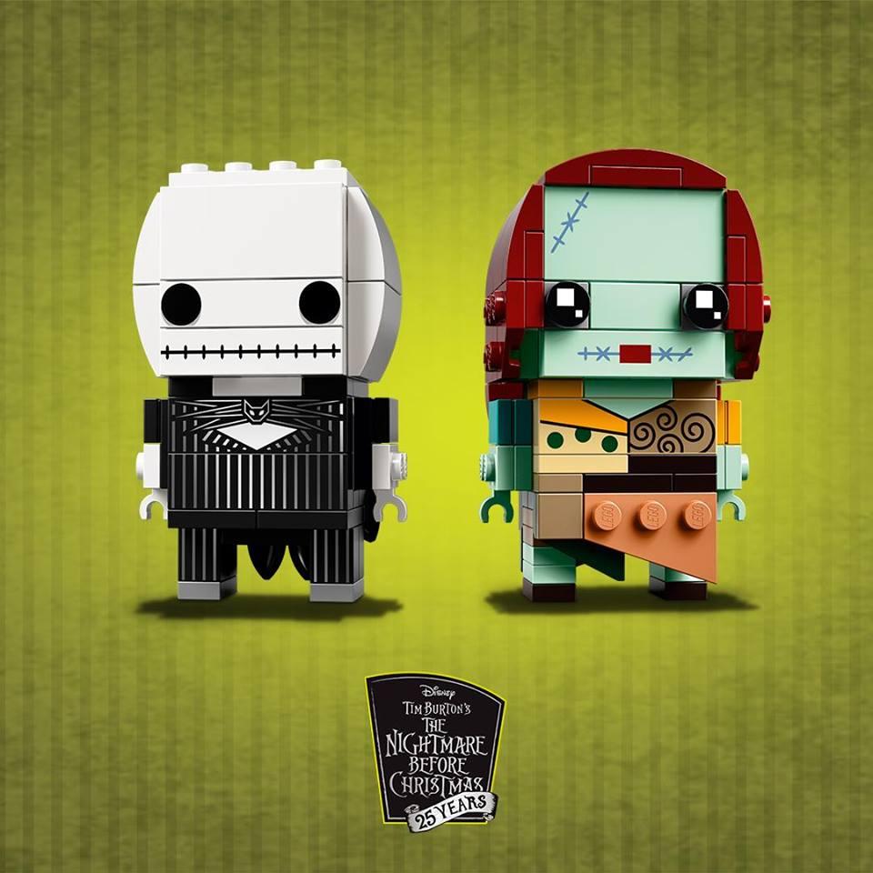 Nightmare Before Christmas LEGO Brickheadz Set Announced ...