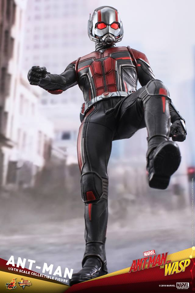 Ant Man And The Wasp 1 6th Scale Ant Man Hot Toys