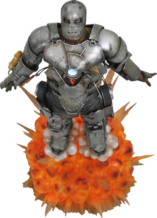 Marvel Milestones Iron Man Mark I 10th Anniversary Statue Coming
