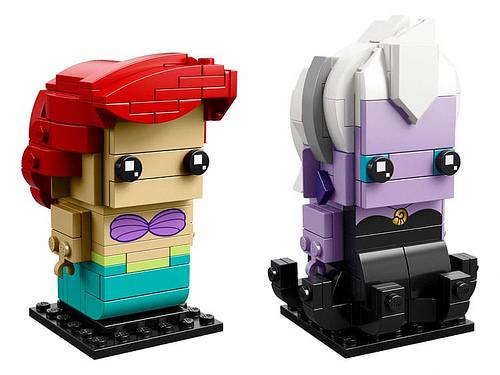 Disneys The Littlest Mermaid Lego Brickheadz Coming Soon
