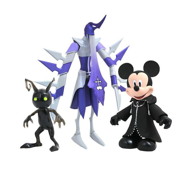 Kingdom Hearts Tron Select Action Figures Coming Soon