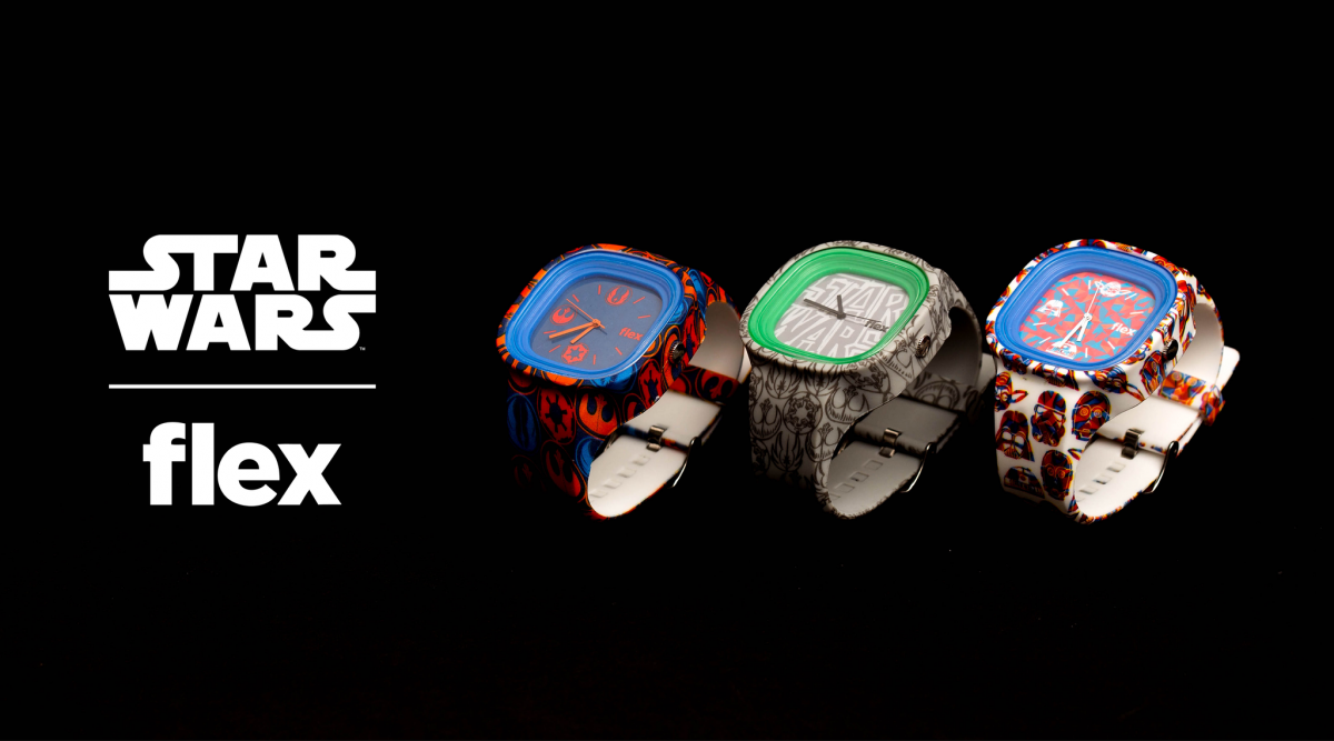 c528266990 While the Star Wars watches collection from Flex Watches features 7 unique  limited edition designs
