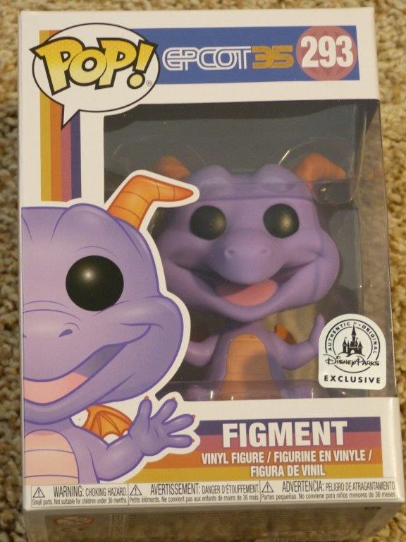 Figment Pop Vinyl Review Diskingdom Com Disney