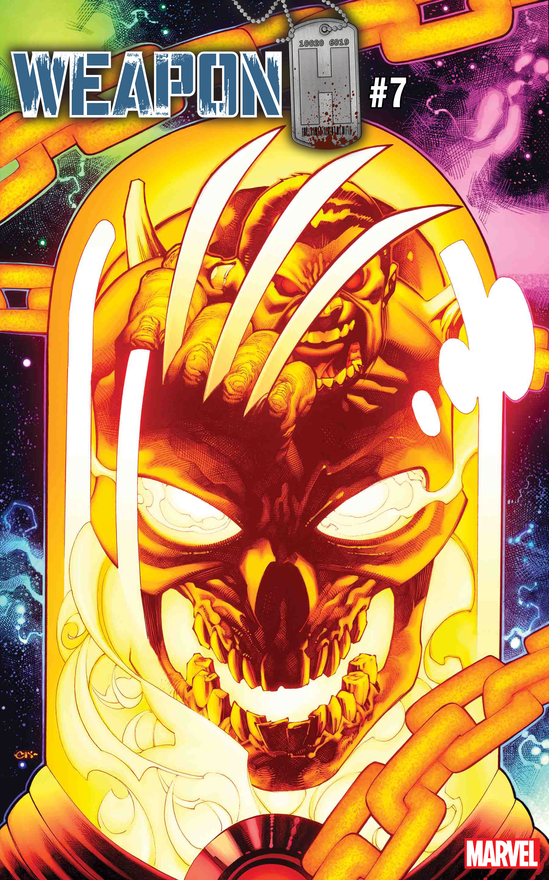Cosmic Ghost Rider Rides Into Comic Shops With New Variant