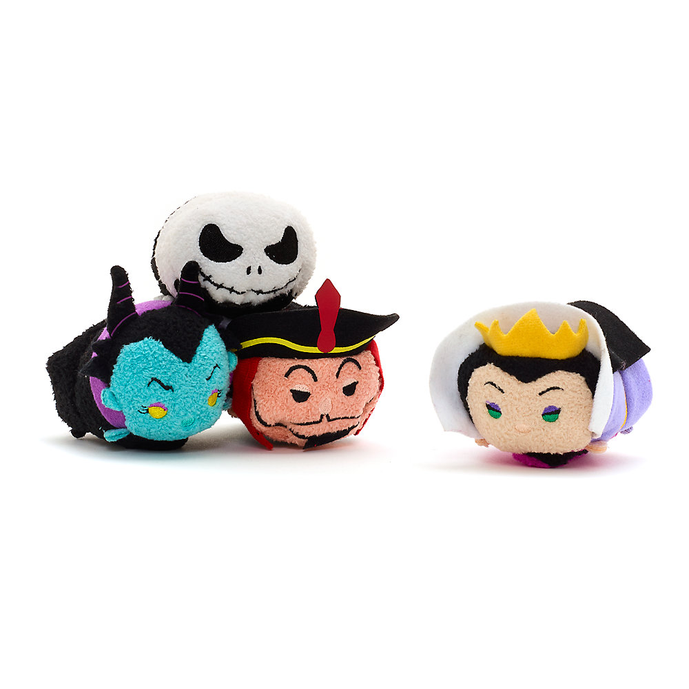 Disney Villains Reversible Tsum Tsum Collection Released In Europe ...