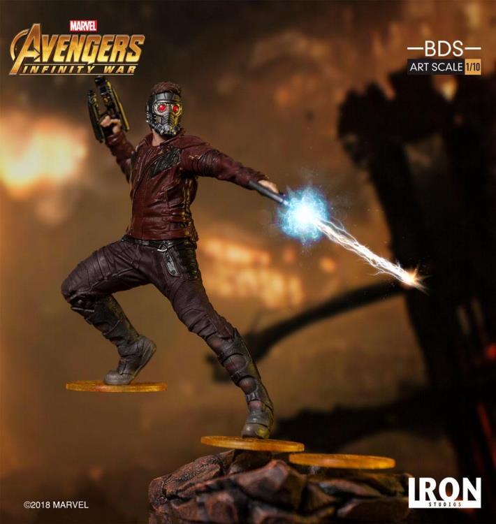 Avengers Infinity War Battle Diorama Series Star Lord