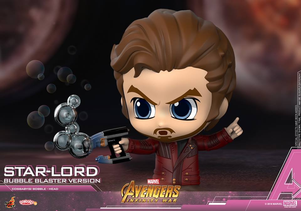 Avengers Infinity War Cosbaby Bobble Head Series Coming