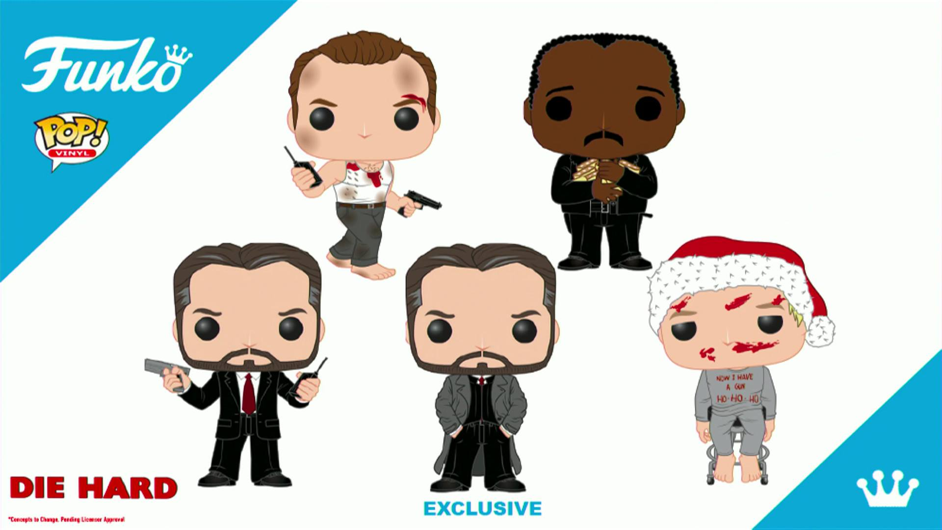 Die Hard Pop Vinyls Coming Soon | | DisKingdom.com | Disney | Marvel ...