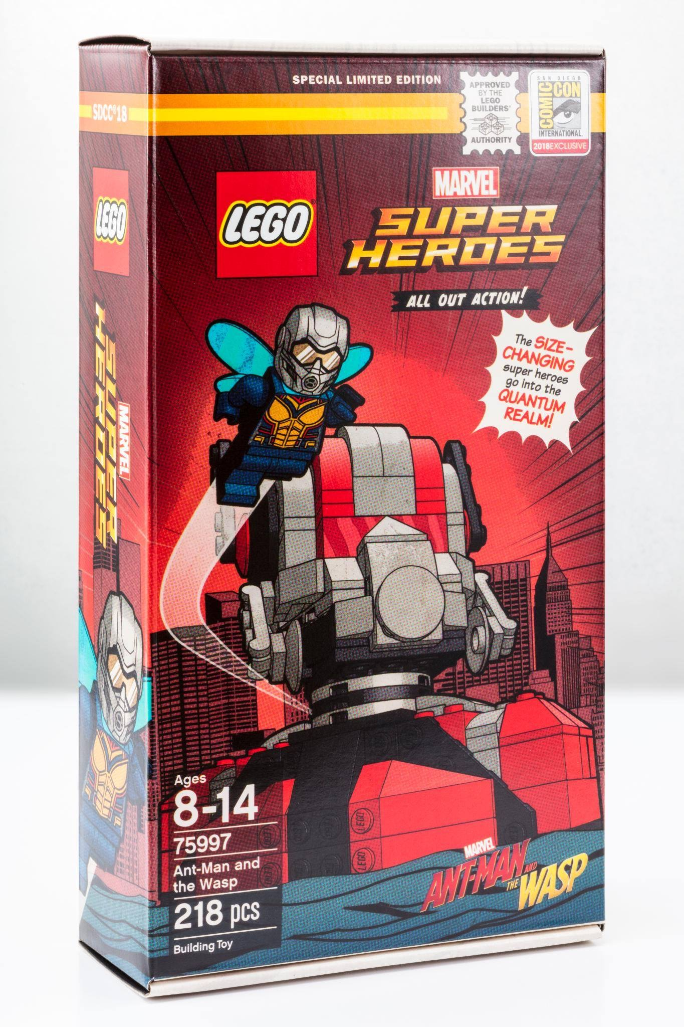 Ant Man And The Wasp 75997 Lego Set Coming To Sdcc