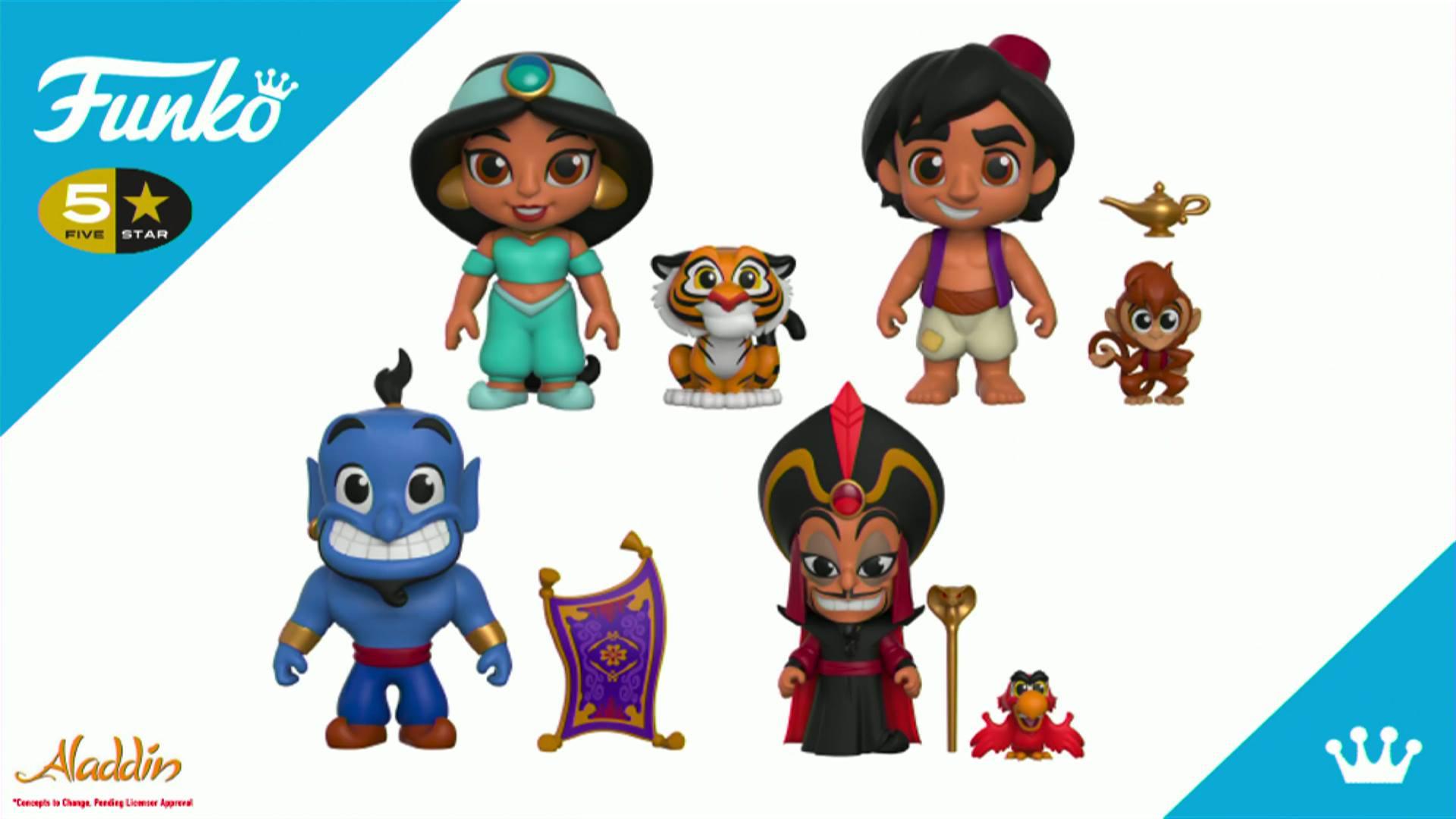 Funko MYSTERY MINIS Disney/'s Aladdin Aladdin.