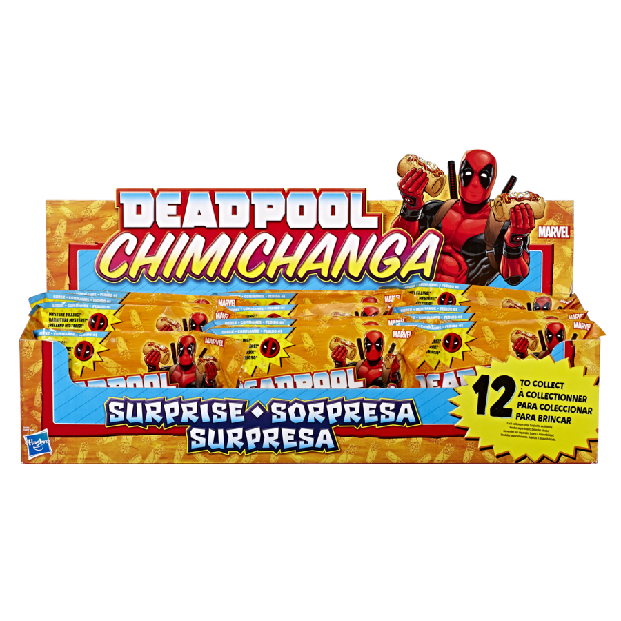Marvel Deadpool Chimichanga Surprise With Mystery Filling