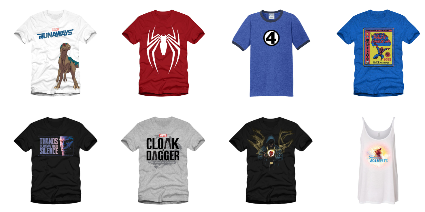 Marvel San Diego Comic Con Merchandise Preview