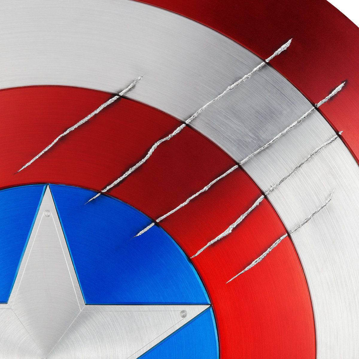 Marvel Masterworks Collection Captain America Shield With Black Panther Claw Marks Out Now Diskingdom Com Disney Marvel Star Wars Video Game News