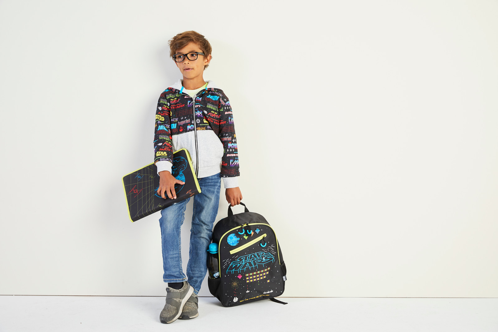 fdf8c679286 ... go with this backpack inspired by PIXAR s Inside Out. The colorful  allover print features all the emotional stars from the movie
