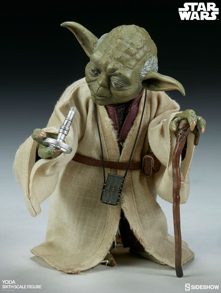 Yoda Sideshow Sixth Scale Figure Details Announced