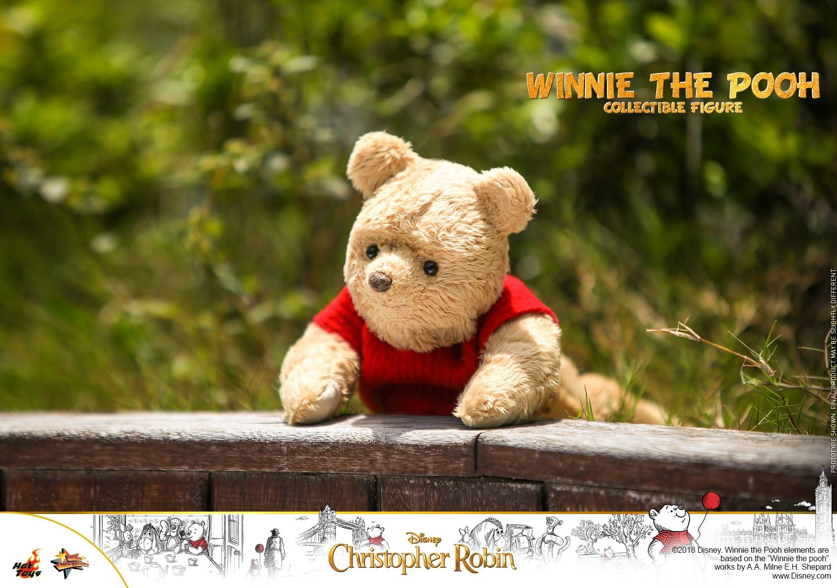Christopher Robin Winnie The Pooh Collectible Figure