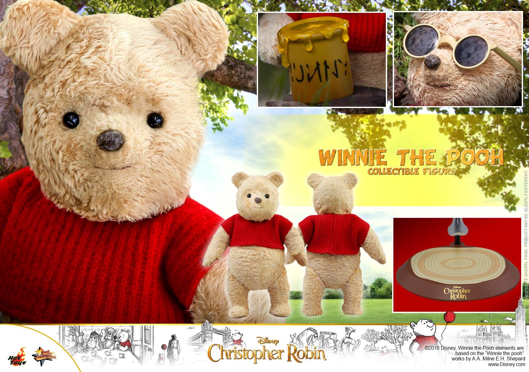 Christopher Robin – Winnie the Pooh Collectible Figure Coming Soon | | DisKingdom.com | Disney ...