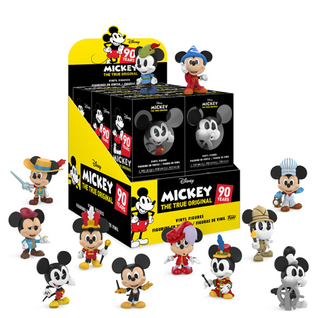 Mickey Mouse S 90th Anniversary Mini Vinyls Coming Soon