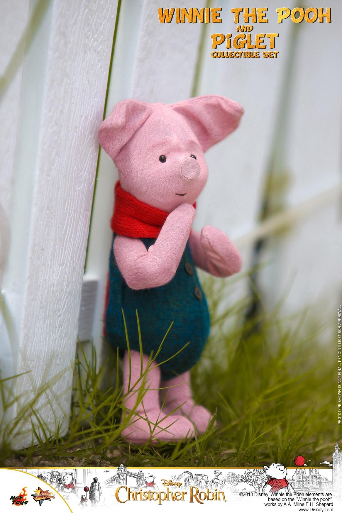 Christopher Robin Winnie The Pooh And Piglet Collectible